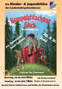 Plakat GV Liedertafel Leimen